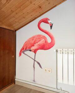 Grafiteros a domicilio - Mural interior