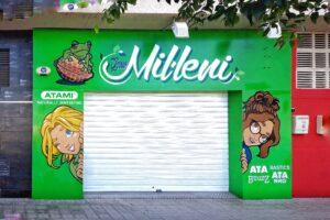 Graffiti profesional - Grow Mil.leni, Catarroja.