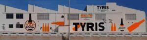 Graffiti profesional - Rotulación: Fábrica de cerveza Tyris, Paterna.
