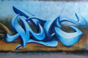 Graffiteros en Madrid - Miyagi